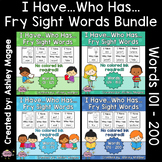 I Have Who Has Fry Words - Second 100 Words Bundle (Words