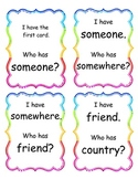 I Have, Who Has Game (2nd Grade Reading Street Unit 1)