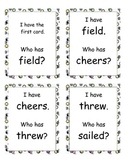 I Have, Who Has Game (2nd Grade Reading Street Unit 6)