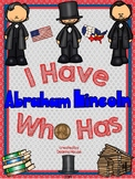I Have Who Has Game About Abraham Lincoln WITH DEFINITIONS