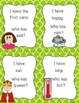 I Have, Who Has Game: Antonyms Edition