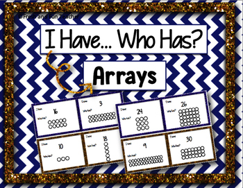 I Have Who Has Game: Arrays