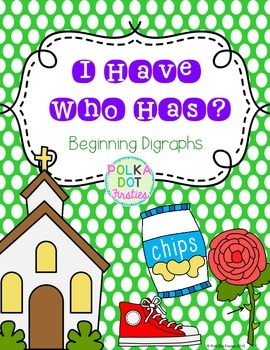 I Have, Who Has Game: Beginning Digraphs