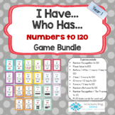 I Have Who Has Maths Game Bundle - Numbers up to 120 BTSDOWNUNDER
