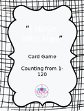 I Have, Who Has Game Card Template
