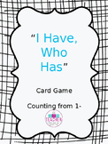 I Have, Who Has Game Cards