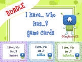 I Have... Who Has ...? Game Cards Bundle (a Total of 144 Cards!)