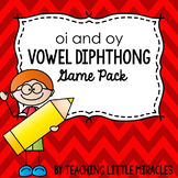 Diphthong oi and oy Game Pack