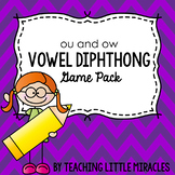 Diphthong ou and ow Game Pack