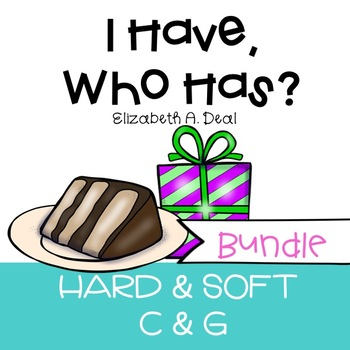 I Have, Who Has Game: Hard and Soft C/G BUNDLE
