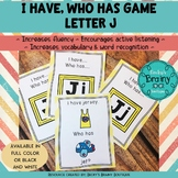 I Have, Who Has Game - Letter J
