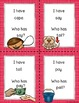 I Have Who Has Game: Long Vowels BUNDLE