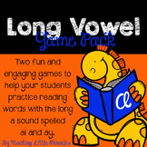 Long a (spelled with ai and ay) Game Pack