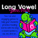 Long o (spelled with o,  oa,  ow, and  oe) Game Pack