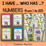 I Have Who Has Game - Numbers from 1 to 100