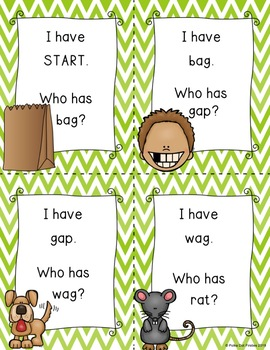I Have, Who Has Game: Phonics Bundle