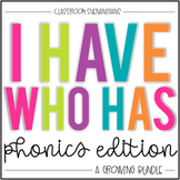 I Have Who Has Games: Phonics BUNDLE