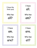 I Have, Who Has Game-Primer Sight Words