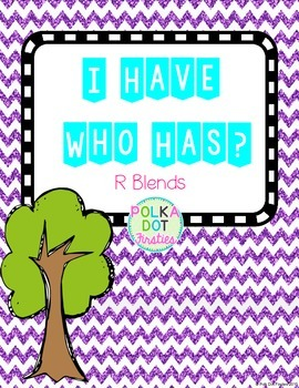 I Have, Who Has Game: R Blends