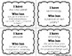 I Have Who Has Vocabulary Game (Reading Wonders 4th Grade Unit 4 Week 3)