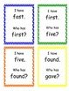 I Have, Who Has Game-Second Grade Sight Words