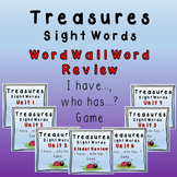 I Have, Who Has Game - Texas Treasures Word Wall Review Un