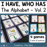 I Have Who Has Game - The Alphabet - Volume 2