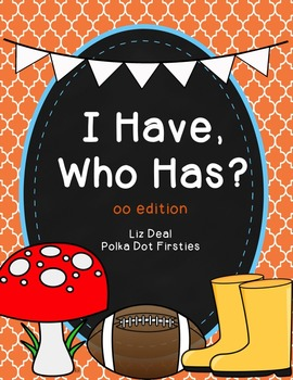 I Have, Who Has Game: Vowel Digraphs & Diphthongs Edition