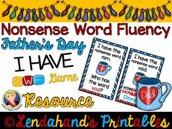 I Have Who Has Game by Ms. Lendahand (Father's Day Theme)