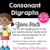 Consonant Digraphs (ch, tch, wh, ph) Pack