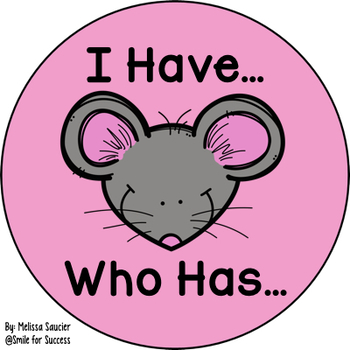 I Have, Who Has Game for OU as in MOUSE