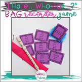 """I Have Who Has?"" Recorder Game - BAG"