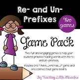 Prefixes Re- and Un- Game Pack