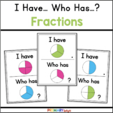 Fractions Game with I Have Who Has