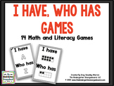 I Have Who Has Games
