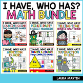 I Have Who Has Games | Math Bundle