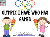 I Have Who Has Games (Olympic Theme)