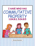 I Have Who Has? Games for the Commutative Property