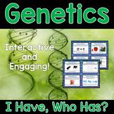 Genetics Activity - I Have, Who Has?