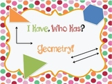 I Have, Who Has Geometry!