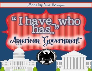 'I Have, Who Has?' Government Game