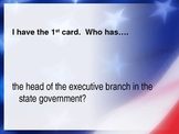 I Have, Who Has Government- THIRD GRADE