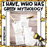 I Have - Who Has ... Greek Mythological Constellations