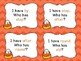 I Have, Who Has? A Candy Corn Themed Dolch Sight Word Game