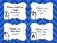 I Have, Who Has? A Ghost Themed Dolch Sight Word Game