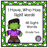 I Have, Who Has? A Frankenstein Themed Dolch Sight Word Game