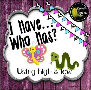 I Have, Who Has? High & Low-Rustic Modern