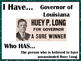 I Have..Who Has... Huey P. Long