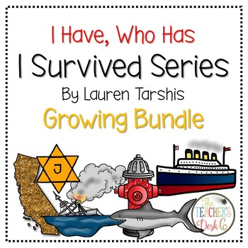 I Have Who Has I Survived Series Growing Bundle