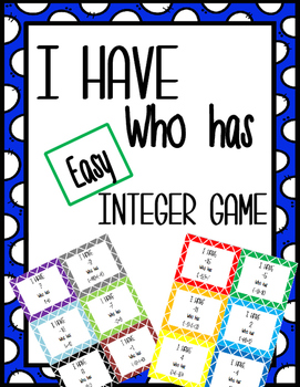 Easy Integer Game